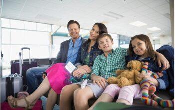 пассажири с детьми